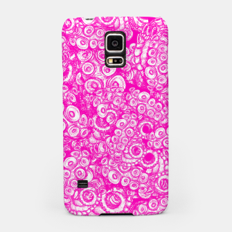 Thumbnail image of Pink Tentacles  Samsung Case, Live Heroes