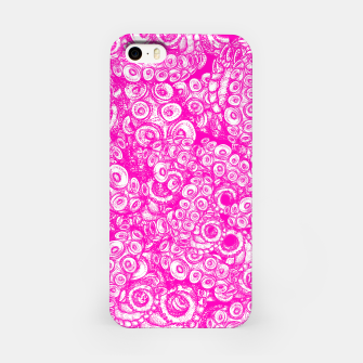 Miniatur Pink Tentacles  iPhone Case, Live Heroes
