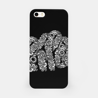 Miniatur Tentacles Black iPhone Case, Live Heroes