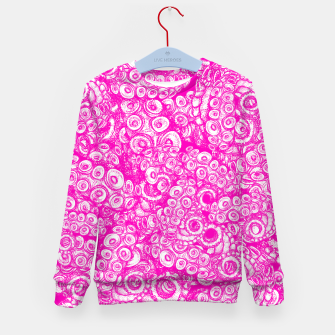 Thumbnail image of Pink Tentacles  Kid's sweater, Live Heroes