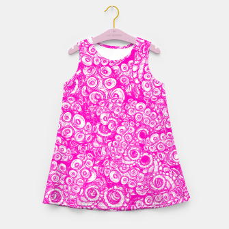 Thumbnail image of Pink Tentacles  Girl's summer dress, Live Heroes