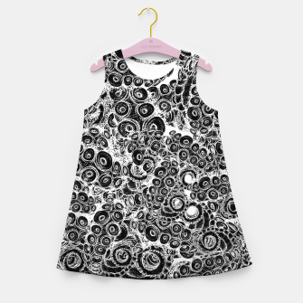 Miniatur Tentacles Girl's summer dress, Live Heroes
