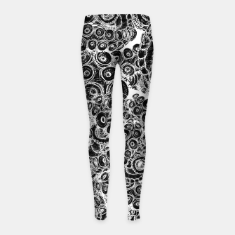 Thumbnail image of Tentacles Girl's leggings, Live Heroes