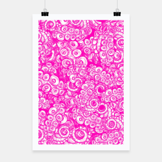 Thumbnail image of Pink Tentacles  Poster, Live Heroes