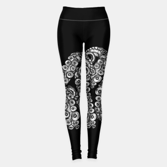 Miniatur Tentacles Black Leggings, Live Heroes