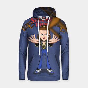 Thumbnail image of eleven stranger things Sudadera con capucha, Live Heroes