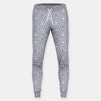 Thumbnail image of Gray Triangles Sweatpants, Live Heroes