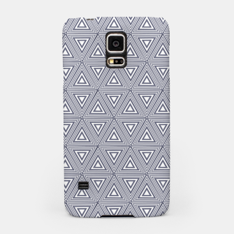 Miniatur Gray Triangles Samsung Case, Live Heroes