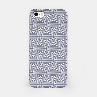 Thumbnail image of Gray Triangles iPhone Case, Live Heroes