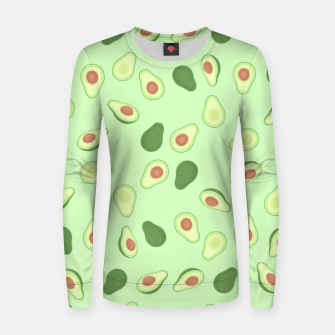 Thumbnail image of Avocados Women sweater, Live Heroes