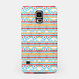 Miniaturka Folk Style Striped Pattern Design Samsung Case, Live Heroes