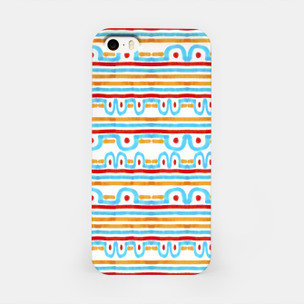 Miniaturka Folk Style Striped Pattern Design iPhone Case, Live Heroes