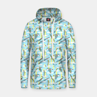 Thumbnail image of Seagulls (Light Blue Background) Hoodie, Live Heroes