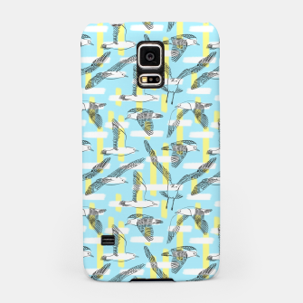 Thumbnail image of Seagulls (Light Blue Background) Samsung Case, Live Heroes