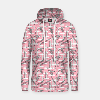 Thumbnail image of Seagulls (Pink Background) Hoodie, Live Heroes