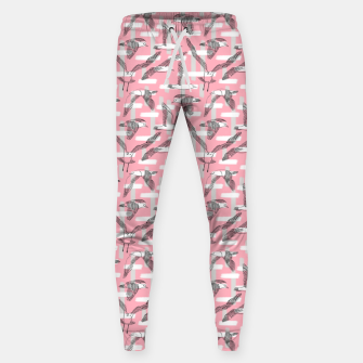 Thumbnail image of Seagulls (Pink Background) Sweatpants, Live Heroes