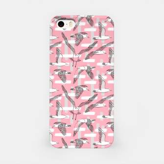 Thumbnail image of Seagulls (Pink Background) iPhone Case, Live Heroes
