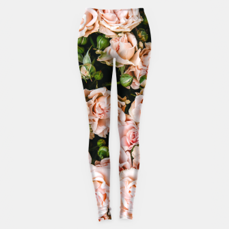 Miniaturka Roses are pink Women's Leggings , Live Heroes
