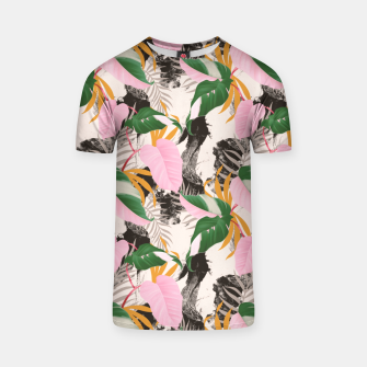Miniatur Abstract nature Camiseta, Live Heroes