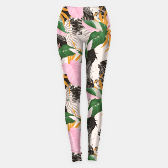 Miniatur Abstract nature Leggings, Live Heroes