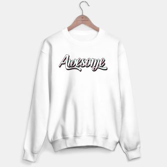 Miniatur Awesome T-shirt Sweater regular, Live Heroes