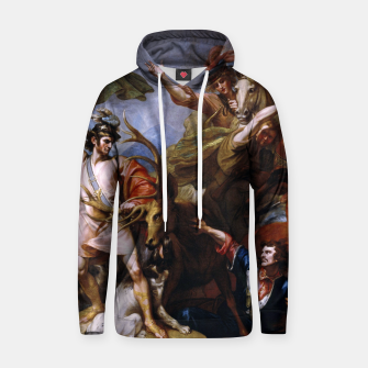 Miniatur The Death of the Stag by Benjamin West Hoodie, Live Heroes