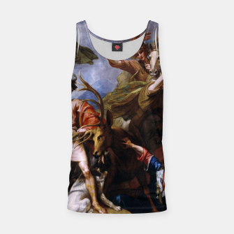 Miniatur The Death of the Stag by Benjamin West Tank Top, Live Heroes