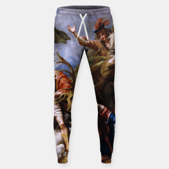 Miniatur The Death of the Stag by Benjamin West Sweatpants, Live Heroes