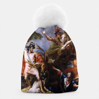 Miniatur The Death of the Stag by Benjamin West Beanie, Live Heroes