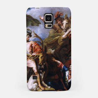 Miniatur The Death of the Stag by Benjamin West Samsung Case, Live Heroes