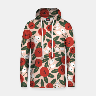 Thumbnail image of Red graphic bloom Sudadera con capucha, Live Heroes