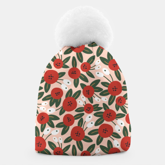 Thumbnail image of Red graphic bloom Gorro, Live Heroes