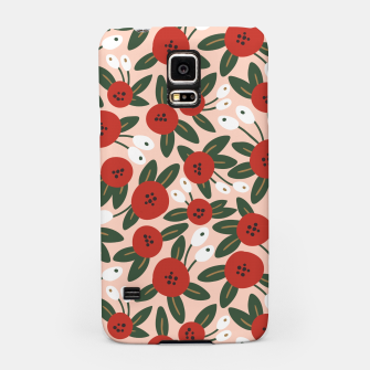 Thumbnail image of Red graphic bloom Carcasa por Samsung, Live Heroes