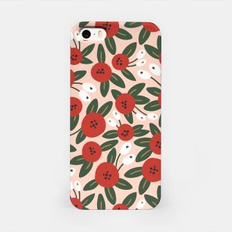 Thumbnail image of Red graphic bloom Carcasa por Iphone, Live Heroes