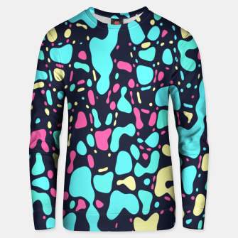 Thumbnail image of Cosmos, abstract colorful space print  Unisex sweater, Live Heroes
