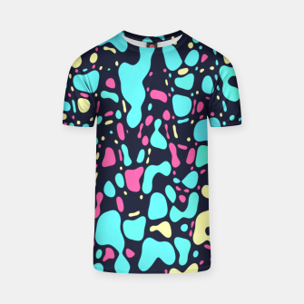 Thumbnail image of Cosmos, abstract colorful space print  T-shirt, Live Heroes