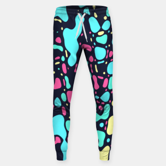 Thumbnail image of Cosmos, abstract colorful space print  Sweatpants, Live Heroes