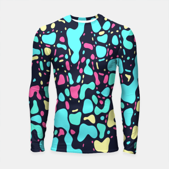 Thumbnail image of Cosmos, abstract colorful space print  Longsleeve rashguard , Live Heroes