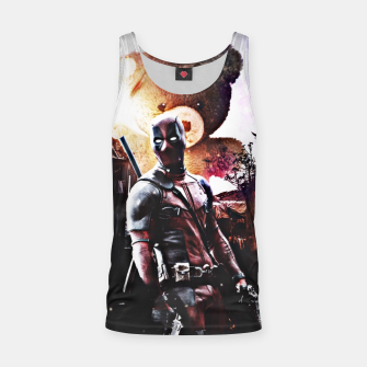 Thumbnail image of Deadpool Tank Top, Live Heroes