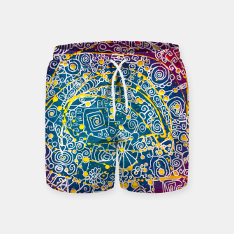 Thumbnail image of Purple Culture - LEMINX Swim Shorts, Live Heroes