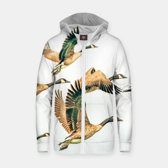 Thumbnail image of Fly Away II Zip up hoodie, Live Heroes