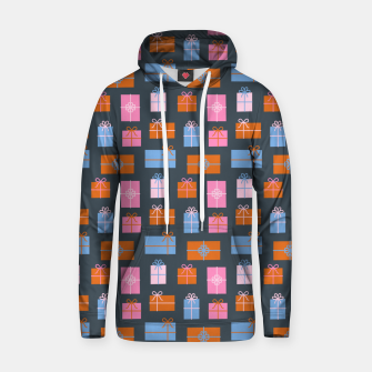 Thumbnail image of Gift Box Pattern Hoodie, Live Heroes