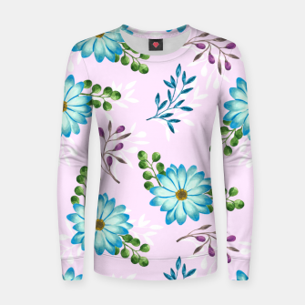 Thumbnail image of Tropical Leaves Jungle Women sweater, Live Heroes