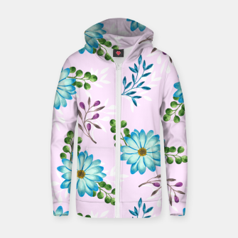 Thumbnail image of Tropical Leaves Jungle Zip up hoodie, Live Heroes