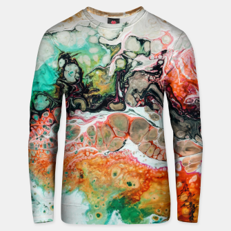 Thumbnail image of Painted Reality Unisex sweater, Live Heroes