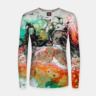 Thumbnail image of Painted Reality Women sweater, Live Heroes