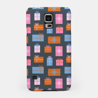 Thumbnail image of Gift Box Pattern Samsung Case, Live Heroes