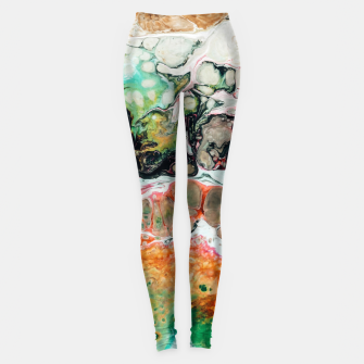 Thumbnail image of Painted Reality Leggings, Live Heroes
