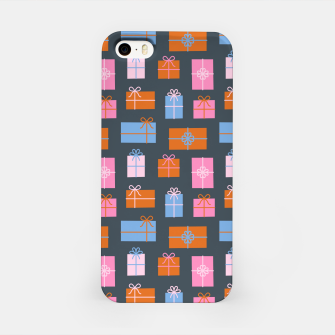 Gift Box Pattern iPhone Case Bild der Miniatur