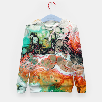 Thumbnail image of Painted Reality Kid's sweater, Live Heroes